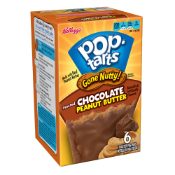 Kellogg's POP Tarts frosted Chocolate Peanut Butter