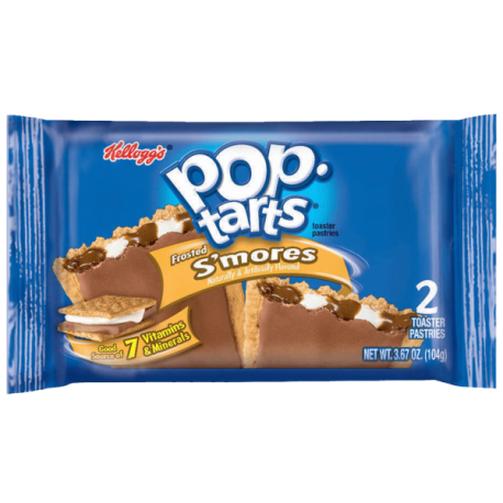 Kelloggs Pop Tarts Frosted S'mores 2pk