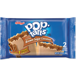 Kelloggs Pop Tarts Frosted Brown Sugar Cinnamon 2pk