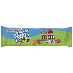 Kellogg's Rice Krispies Treats Blasted with M&M's