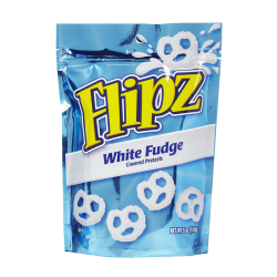 Flipz White Fudge Covered Pretzels