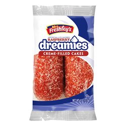 Mrs Freshley's Raspberry Dreamies 113g