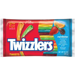 Twizzlers Twists Rainbow 351g
