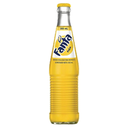 Mexican Fanta Pineapple Bottle 355ml