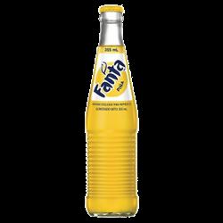 Mexican Fanta Pineapple Bottle 355ml