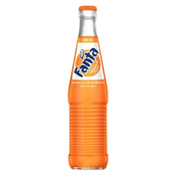 Mexican Fanta Orange Bottle 355ml