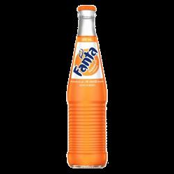 Mexican Fanta Orange Bottle 355ml