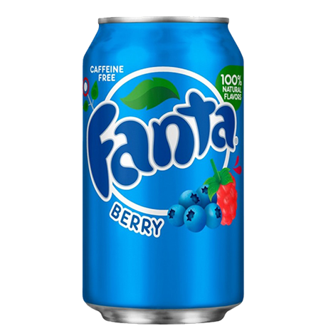 Fanta Berry Can 355ml