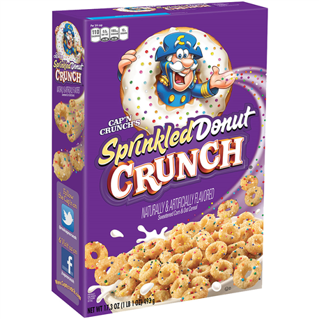 Cap'N Crunch Sprinkled Donut Crunch 353g
