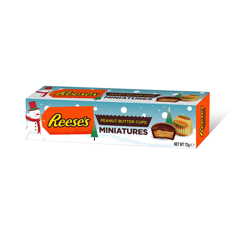 Reeses Peanut Butter Miniatures Tube 72g