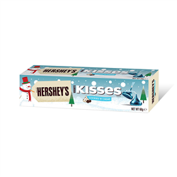 Hersheys Kisses Cookies & Creme Tube 68g