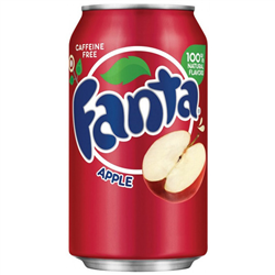 Fanta Apple Can 355ml