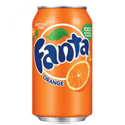 Fanta Orange Can 355ml