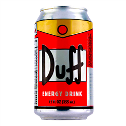 Boston America DUFF Energy Drink 355ml