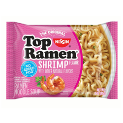 Nissin Top Ramen Shrimp (85g)