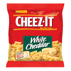 Cheez It Crackers White Cheddar (42g)