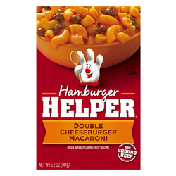 Hamburger Helper Double Cheeseburger Macaroni (170g)
