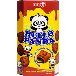 Meiji Hello Panda Double Chocolate