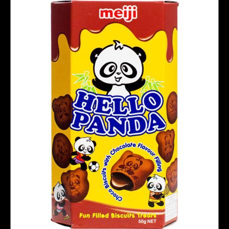 Meiji Hello Panda Double Chocolate