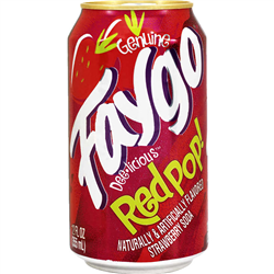 Faygo Red Pop (355ml)