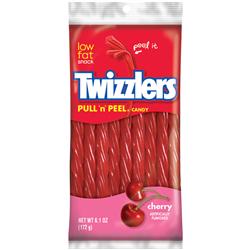 Twizzlers Cherry Twists Pull 'n' Peel (172g)