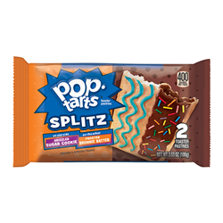 POP Tarts Splitz Sugar Cookie & Frosted Brownie Batter (100g)