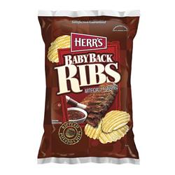 Herr's Baby Back Ribs Potato Chips