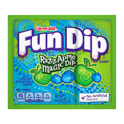 Lik-m-aid Fun Dip Raz Apple