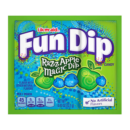 Lik-m-aid Fun Dip Raz Apple