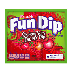 Lik-m-aid Fun Dip Cherry