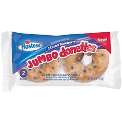 Hostess Jumbo Glazed Blueberry Donettes 2ct (113g)