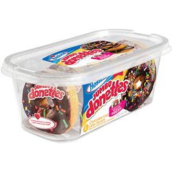 Hostess Jumbo Chocolate Iced Donettes 6ct (298g)