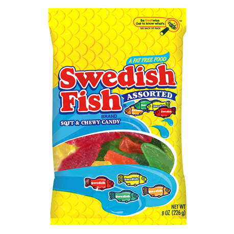 Swedish Fish Assorted (226g)
