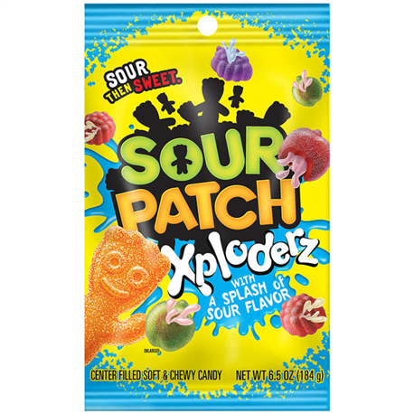 Sour Patch Xploderz (184g)