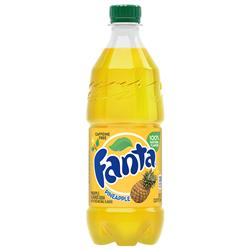 Fanta Pineapple Bottle 591ml