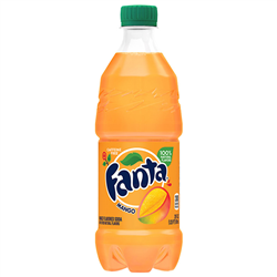 Fanta Mango Bottle 591ml