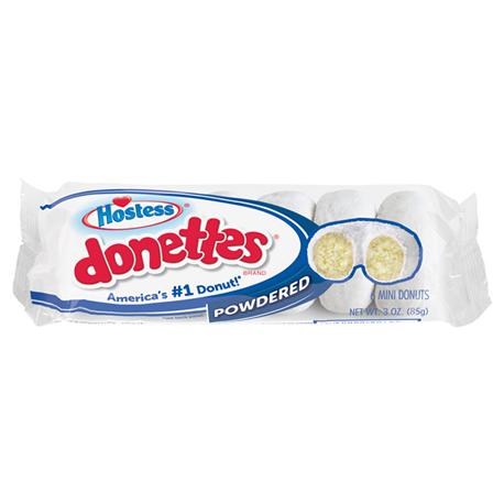 Hostess Powdered Mini Donettes 6ct (85g)