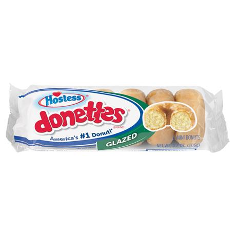 Hostess Glazed Mini Donettes 6ct (105g)