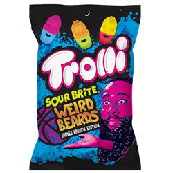 Trolli Sour Brite Weird Beards (120g)