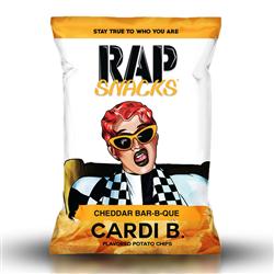 Rap Snacks Cardi-B Cheddar Bar-B-Que (28g)