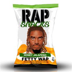Rap Snacks Fetty Wap Honey Jalapeno (28g)