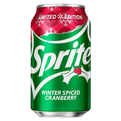 Sprite Winter Spiced Cranberry (355ml)