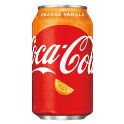 Coca Cola Orange Vanilla (355ml)