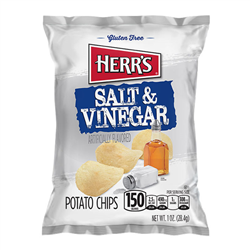 Herr's Salt & Vinegar Potato Chips (28.4g)