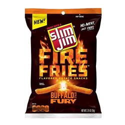 Slim Jim Fire Fries - Buffalo Fury (78g)