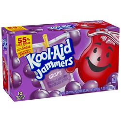 Kool-Aid Jammers Grape (177ml/10ct)