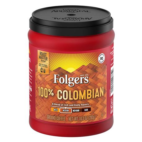 Folgers Coffee 100% Columbian (292g)