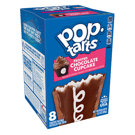 Kellogg's POP Tarts Frosted Chocolate Cupcake