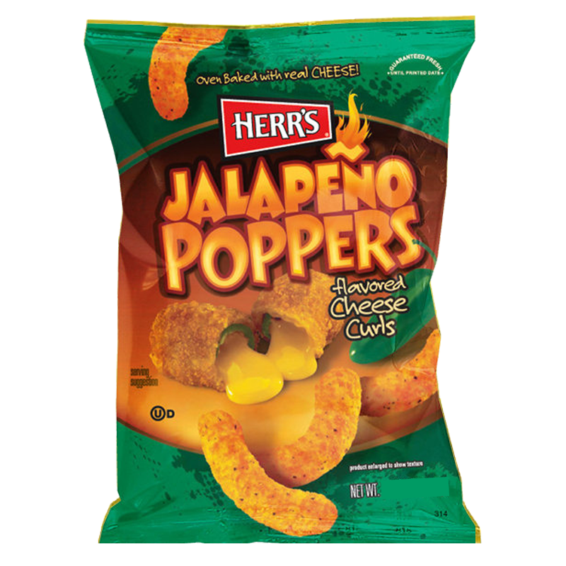 Herrs Jalapeno Poppers 199g
