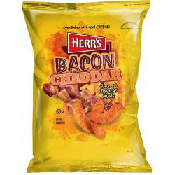 Herr's Bacon Cheddar Cheese Curls 199g